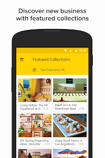 YP - Yellow Pages local search- screenshot thumbnail