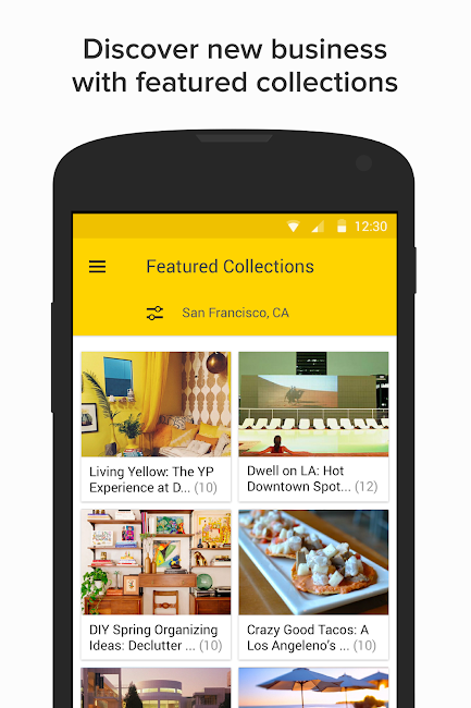 #3. YP - Yellow Pages local search (Android)