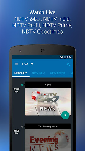 NDTV News - India app (apk) free download for Android/PC/Windows screenshot