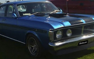 Ford Fairmont XY GT Rent Southland