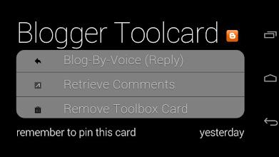 Photo: BlogToolcard