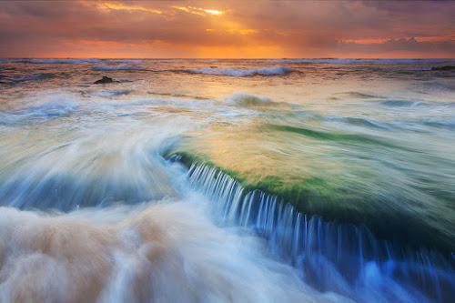 Dentes de Água by Pedro Barreiros - Landscapes Waterscapes ( pnsc, natureza, guincho, pmbarreiros, portugal, paisagem, 5d, pôr do sol )