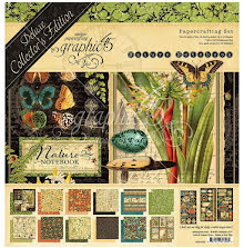 Graphic 45 Deluxe Collectors Edition Pack 12X12 - Natures Notebook