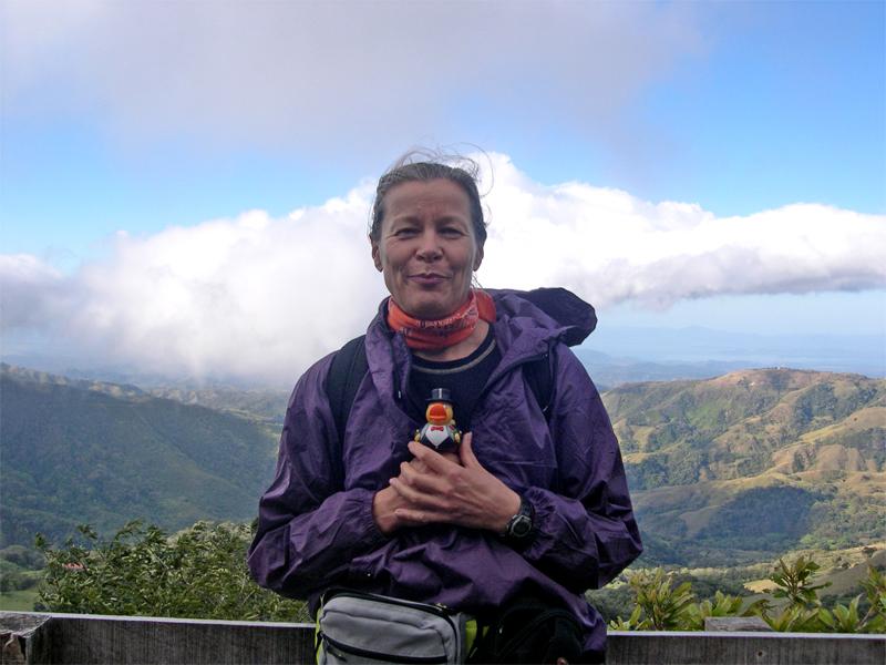 Photo: monteverde / santa elena. it is high. it is cold. it is windy.