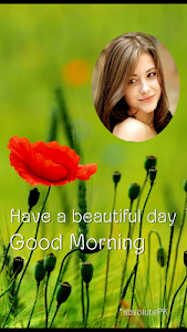 Good Morning Image Photo Frame screenshot 4