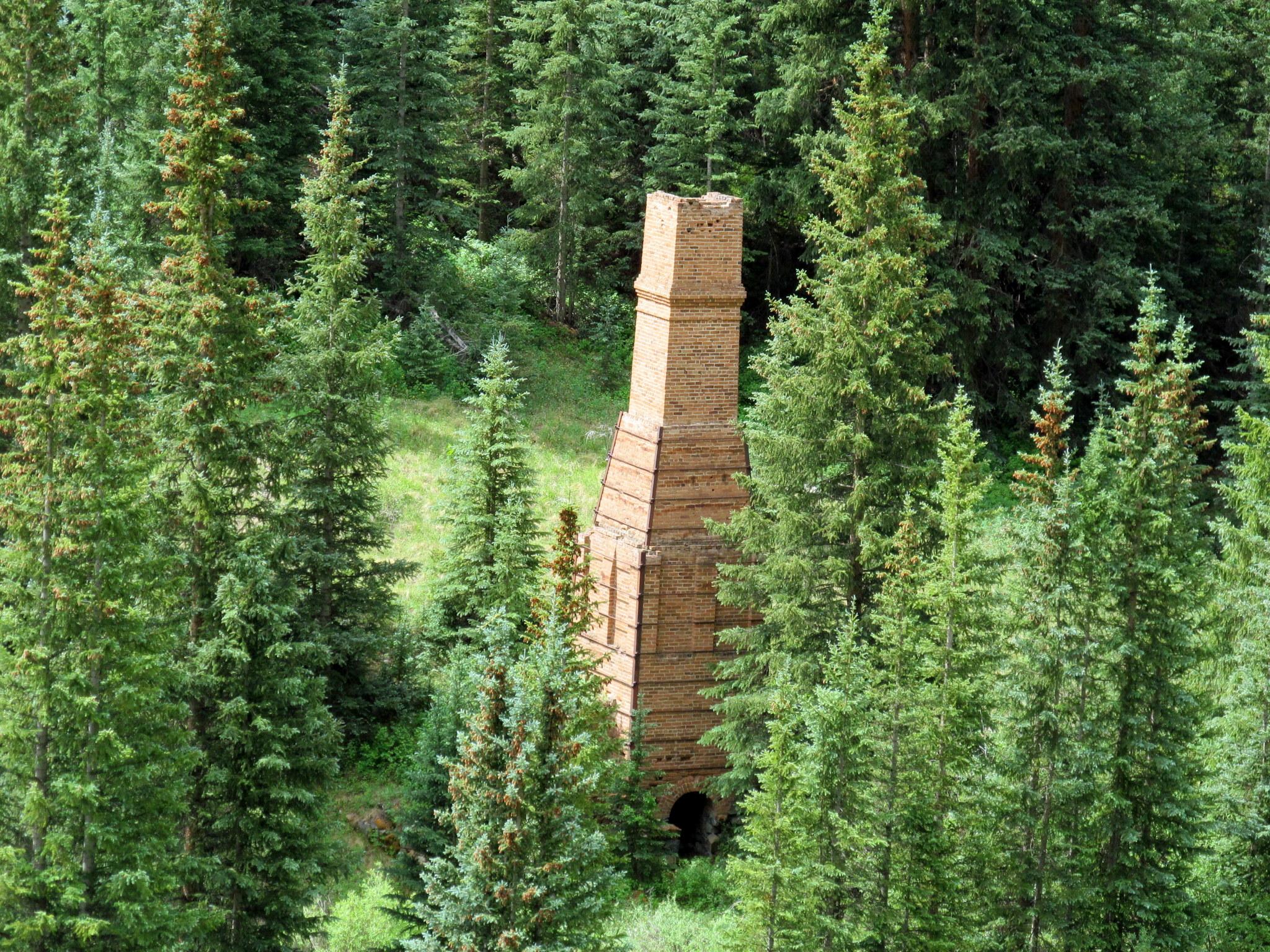 Photo: Rose lime kiln, built in 1881