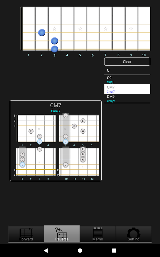 Gchord3 Guitar Chord Android Apps On Google Play