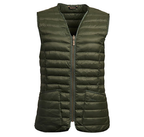 Barbour Baffle Betty Liner Olive