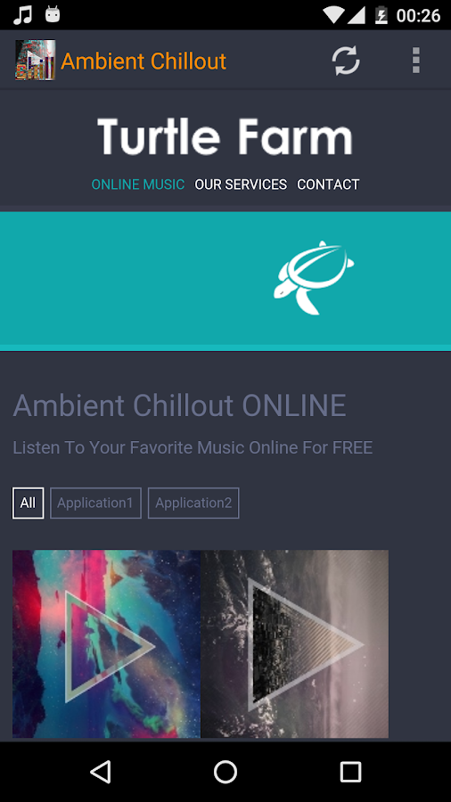 ambient chillout music online android apps on google play. Black Bedroom Furniture Sets. Home Design Ideas