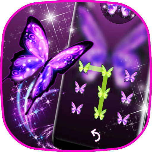 Beautiful Butterfly - locker theme Icon