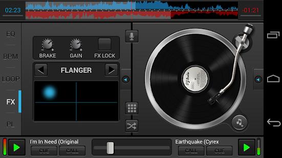 DJ Studio 5 - Free music mixer Screenshot