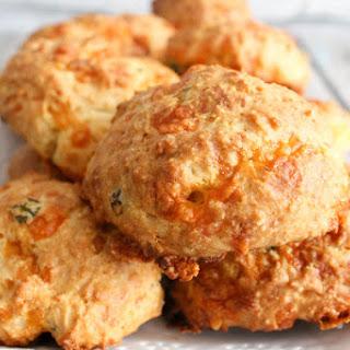Cheddar Scallion Drop Biscuits