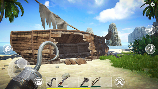 Last Pirate: Survival Island Adventure apkpoly screenshots 1