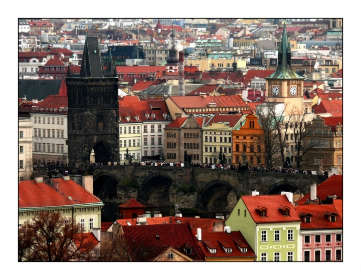Praga... Ponte Carlo di Marzia Borgognoni