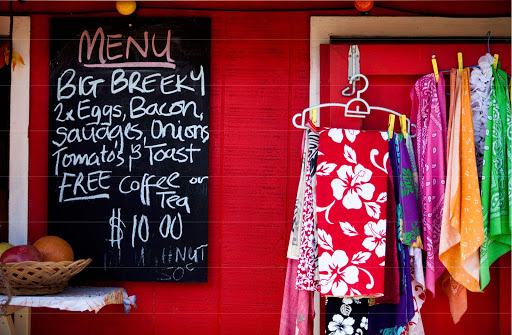 cook-islands-market.jpg - Find a sarong or perhaps a snack at a market in the Cook Islands.