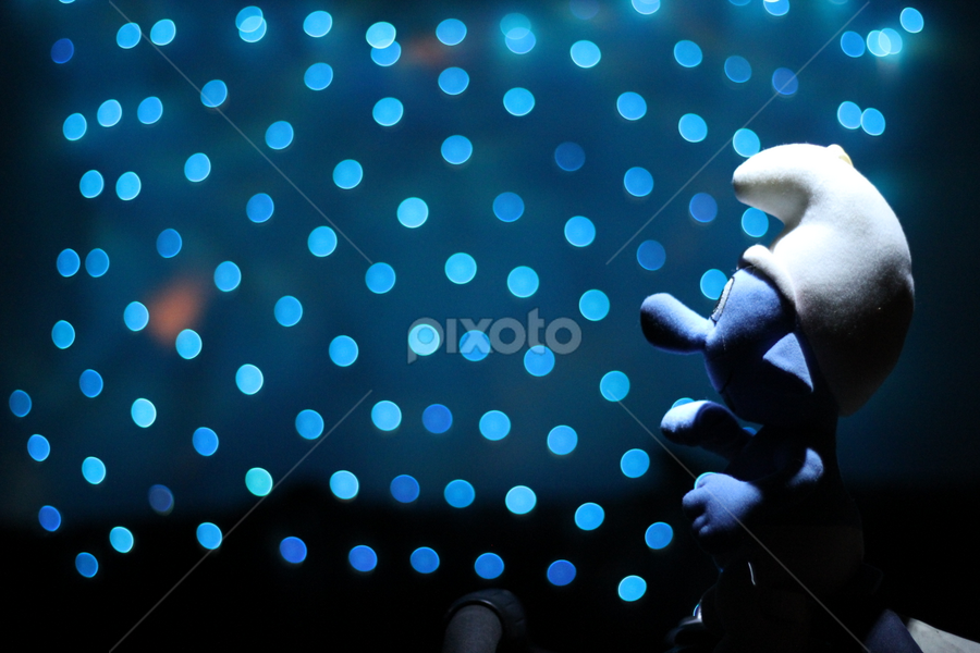 Smurf lost by Hasnain Rizvi - Artistic Objects Toys (  )