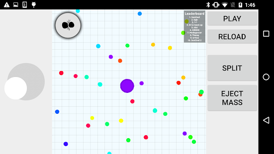 Wrapper for Agar.io screenshot