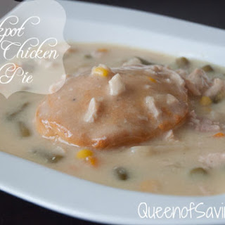 Crock Pot Chicken Pot Pie.