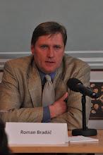 Photo: Roman Bradáč, novinář, bývalý ředitel zpravodajství ČT a kandidát na ředitele ČT.
