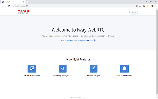 meet.iway.it Screenshare Extension