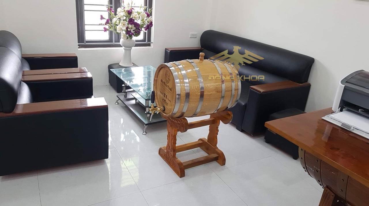 Giá của thùng gỗ sồi khá rẻ so với thị trường