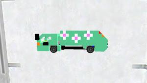 大阪市環境局 ハイブリッド車緑