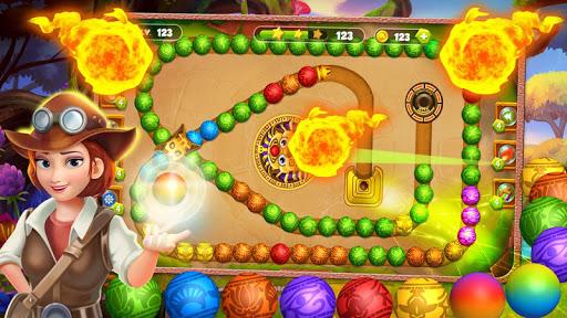 Marble Zumla Ball Shooter  captures d'écran 1