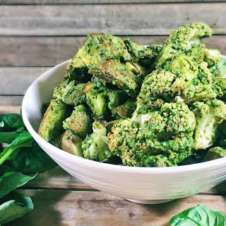 Oil-Free Pesto Cauliflower and Potatoes [Vegan, Gluten-Free].