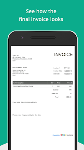 Free Invoice Generator Apps On Google Play - Free invoice generator