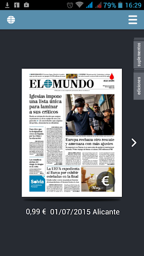 El Mundo Edición Impresa