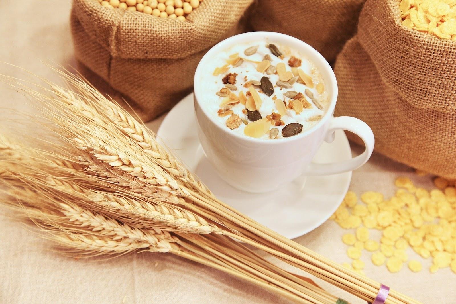 wheat and granola