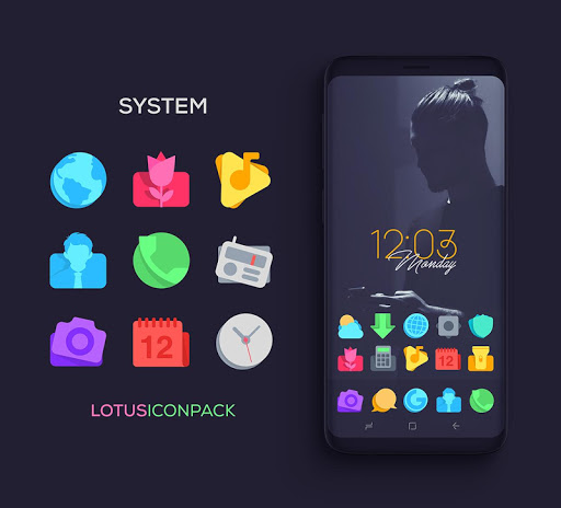 Screenshot for Lotus Icon Pack in Hong Kong Play Store