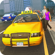 Car Taxi Driver Simulator 2019