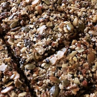 """""""Clean Out the Cupboard"""" Grain-Free Granola Bars."""