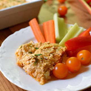 Skinny Buffalo Chicken Dip