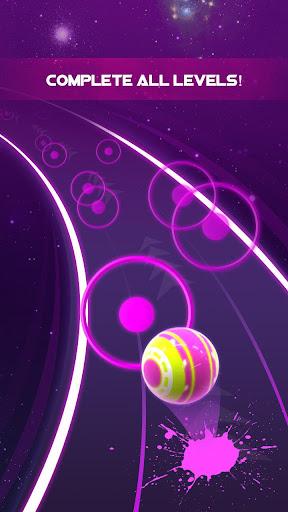 Dancing Neon Ball: Rush Road screenshot 13