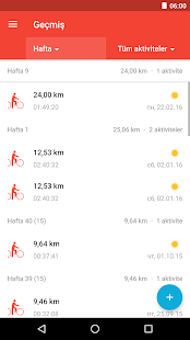 Runtastic Road Bike PRO Screenshot