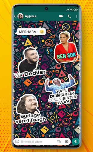 Türkçe Sticker ve Mizahi Sticker for WhatsApp screenshot 3