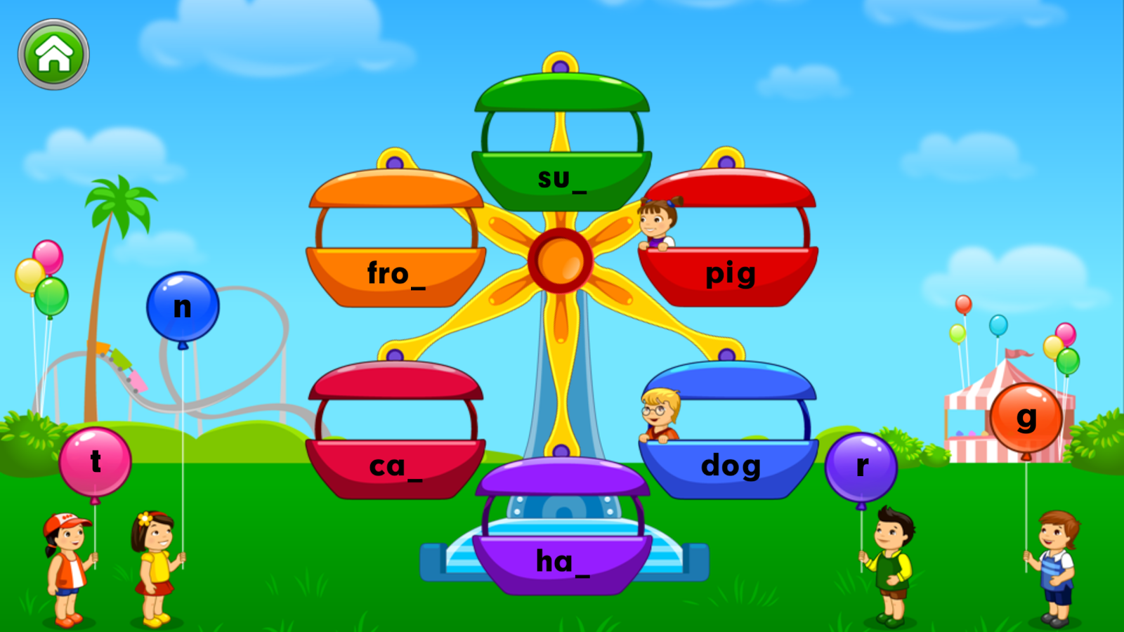Learn Letter Sounds With Carnival Kids Android Apps On