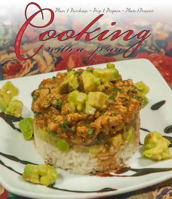 Thai Chicken & Rice Tower Recipe
