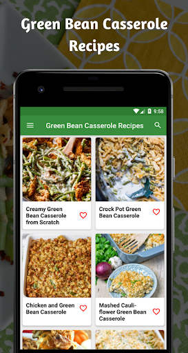 Casserole Recipes: Green Bean Casserole Recipe 1.0 screenshots 1