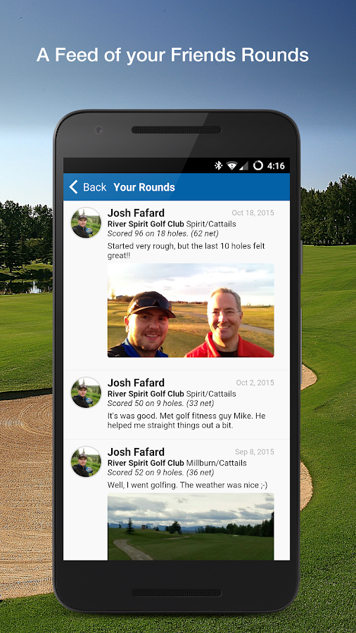 Golf GPS & Scorecard- screenshot