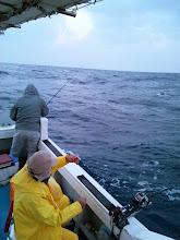 Photo: いやー、久しぶりの真鯛釣り! さあー!ガンバリましょ!
