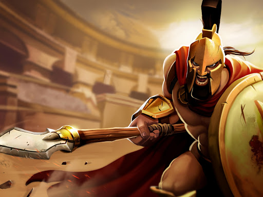 Gladiator Heroes Clash: Fighting and strategy game  screenshots 13