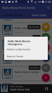 Radio Maria World Family- miniatura screenshot