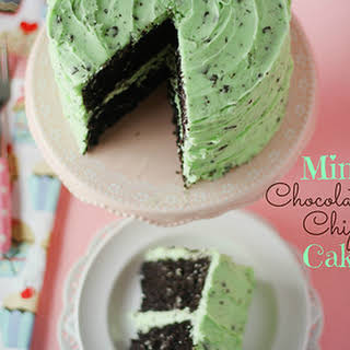 Mint Chocolate Chip Cake Recipes.
