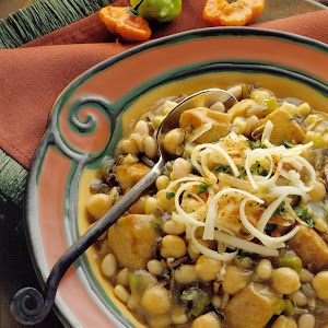 Wild Rice and Pork Soup