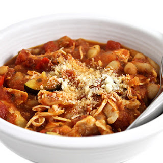 Crock-Pot, Skinny Tuscan Chicken and Beans
