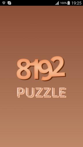 8192 Puzzle