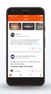 Loop - Find Your Events- screenshot thumbnail